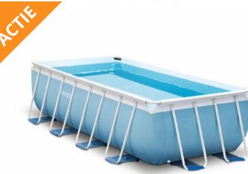 Intex Prism Frame zwembad 400 x 200 x 100 cm nu voor maar €278